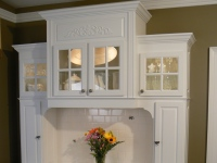 Custom Built-in Old Chatham Cabinet